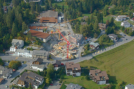 Flims, Mountain Suites, Baustelle